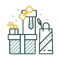 Праздничные иконки — Упакуй тут
