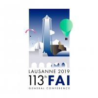 3-й год мы создаём дизайн аэрокосмической конференции в Лозанне ( редизайн этого года)