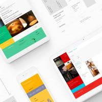 Фирменный стиль + web design — 3 направления компании, которые мы объединили креативной графикой!