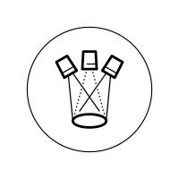 Большой набор бейджей свойств брендов компании Chal-Tec — Perfect Presentation.