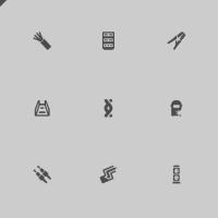 Набор иконок для интернет-магазина Телекомуникационных систем