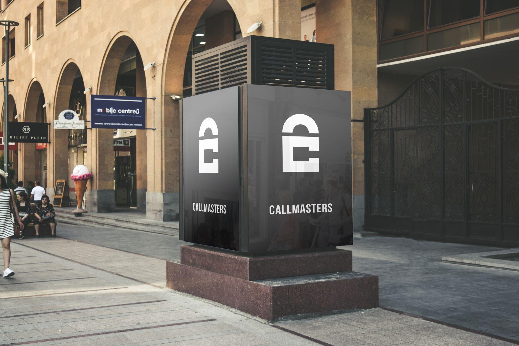 Логотип call-центра Callmasters  фото f_4815b705f6356ecf.jpg