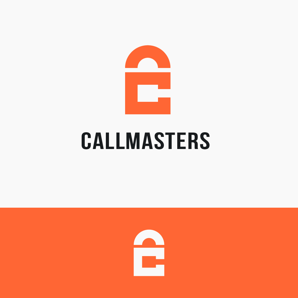 Логотип call-центра Callmasters  фото f_5235b7185936bf4b.jpg