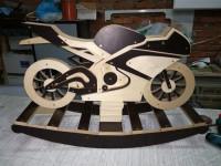 Модель,чертежи мотоцикла, для ЧПУ
