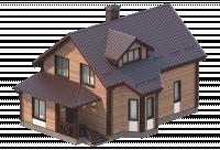Иллюстрации домов для инфографики