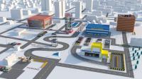 Видеоиллюстрация работы парковок