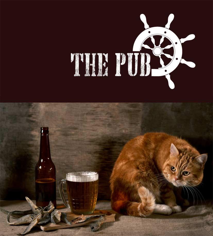 "Разработка логотипа торговой марки ""THEPUB"" фото f_4545204eba3e436e.jpg"