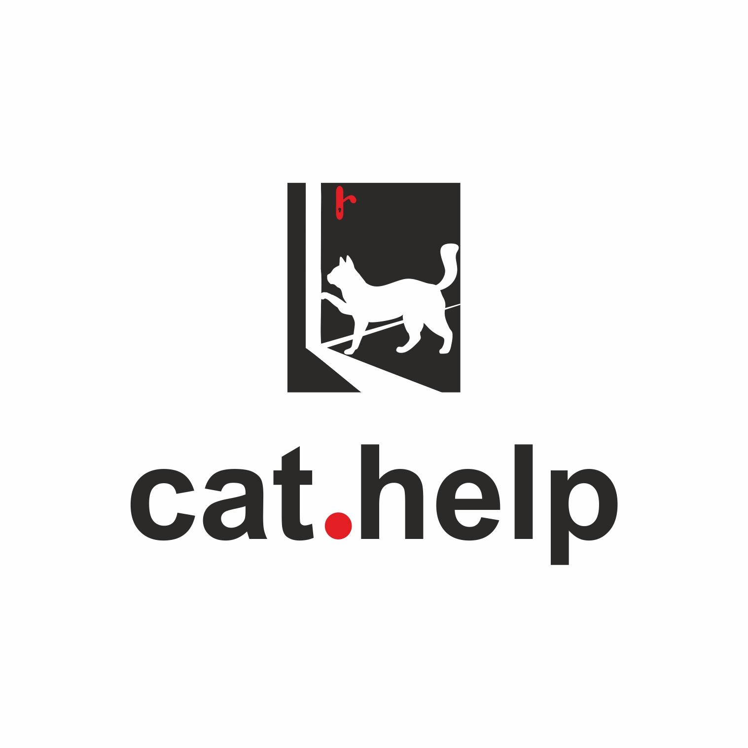 логотип для сайта и группы вк - cat.help фото f_05659e0e49aa29a5.jpg