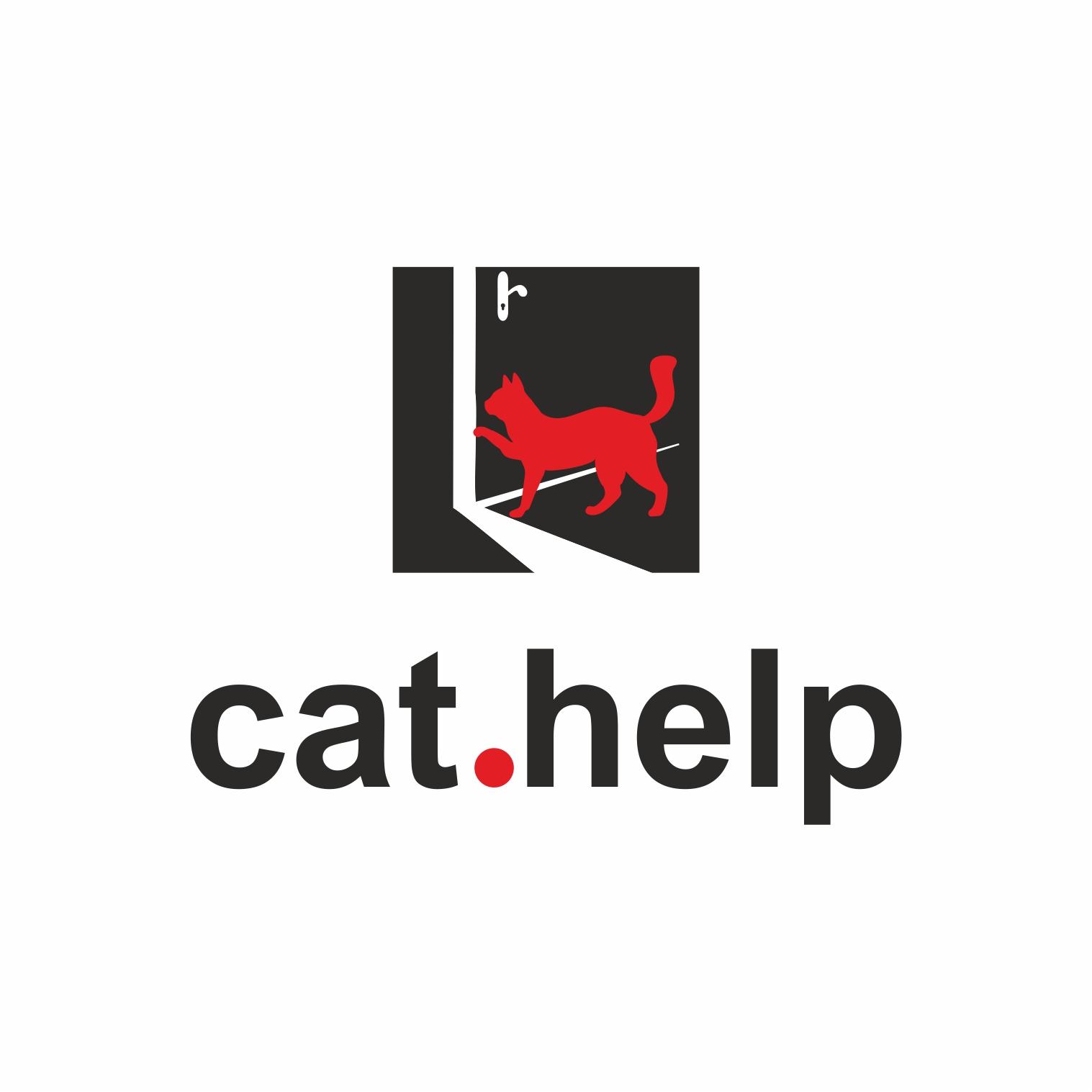 логотип для сайта и группы вк - cat.help фото f_22359e0e568d6772.jpg