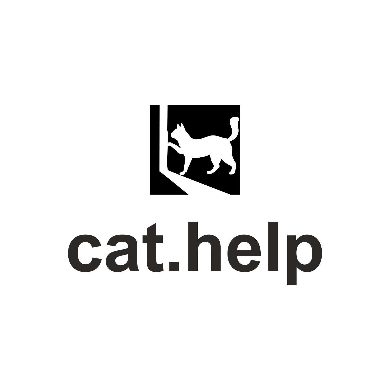 логотип для сайта и группы вк - cat.help фото f_97459e024d570a91.jpg