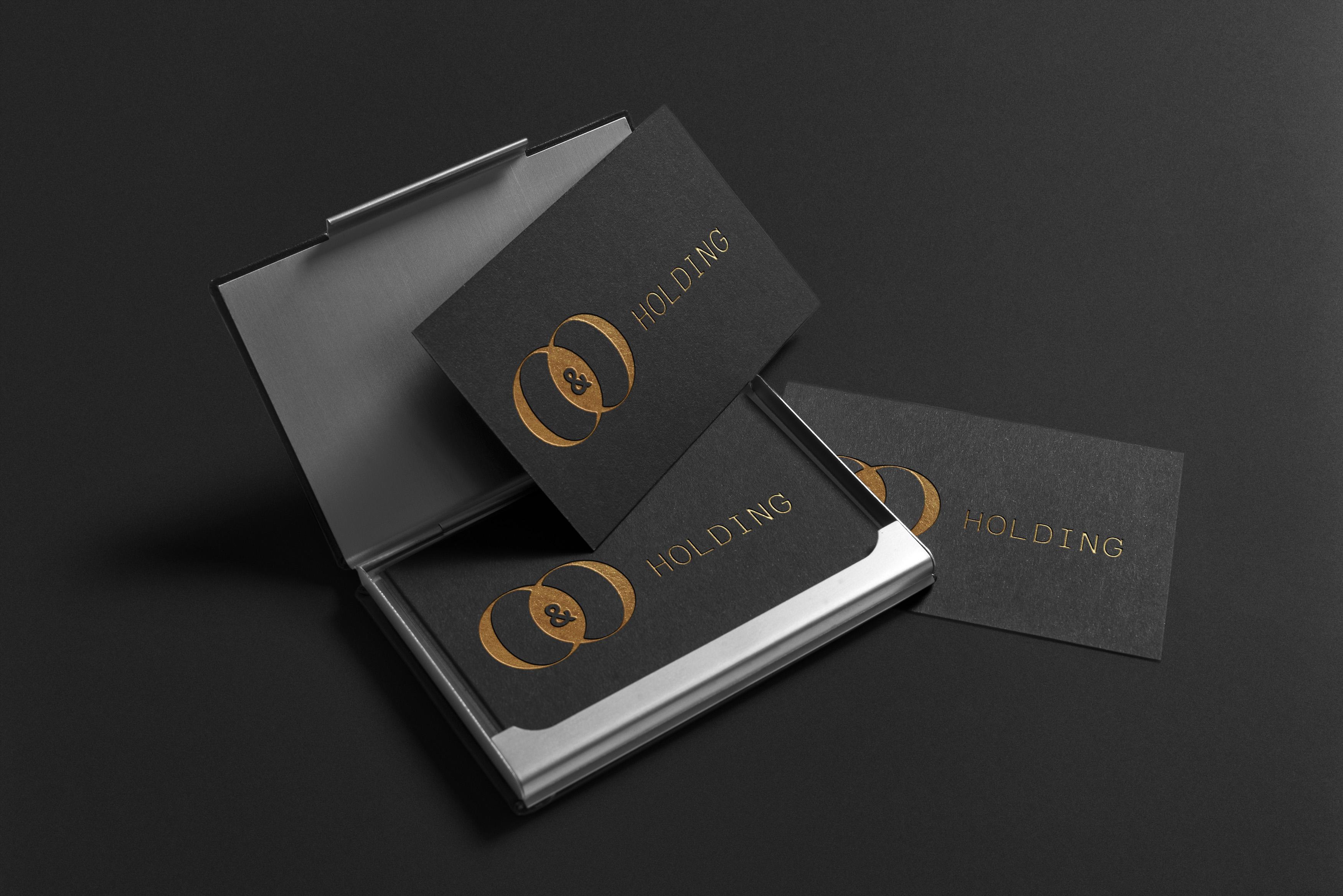 "Разработка Логотипа +  Фирменного знака для компании ""O & O HOLDING"" фото f_5235c7d7dc44c14a.jpg"