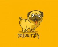 Желтый папочка- персонаж кафе