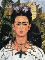 ✨ анимация Фрида Кало 1940 Self Portrait