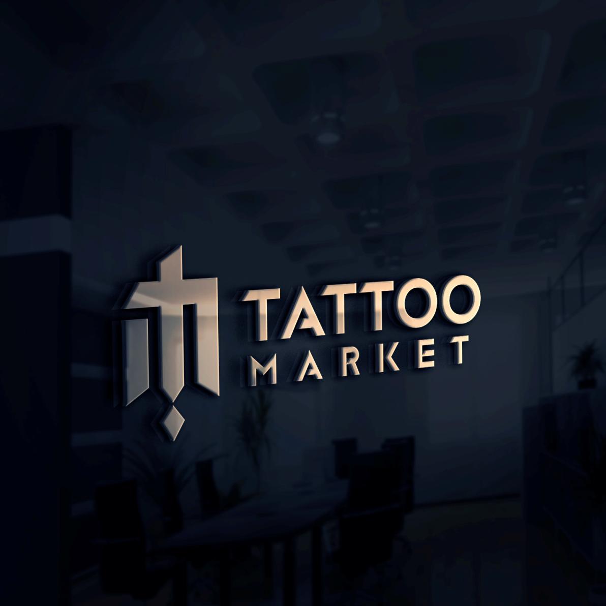 Редизайн логотипа магазина тату оборудования TattooMarket.ru фото f_2045c48b8349d27f.png