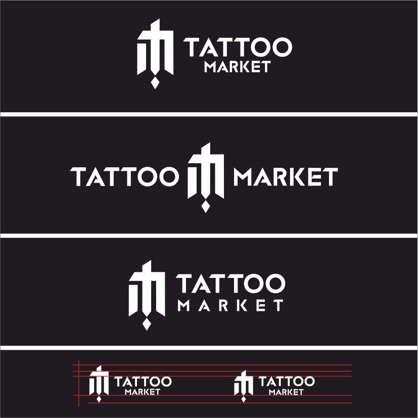 Редизайн логотипа магазина тату оборудования TattooMarket.ru фото f_7095c40cfae074ec.png