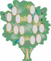Генеалогическое дерево в векторе