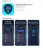FAST VPN Иконка и баннер для Google play и App Store