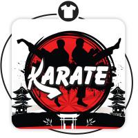 Принт на футболку KARATE