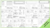 Раздел КЖ производственно-складского комплекса. Стадия Р