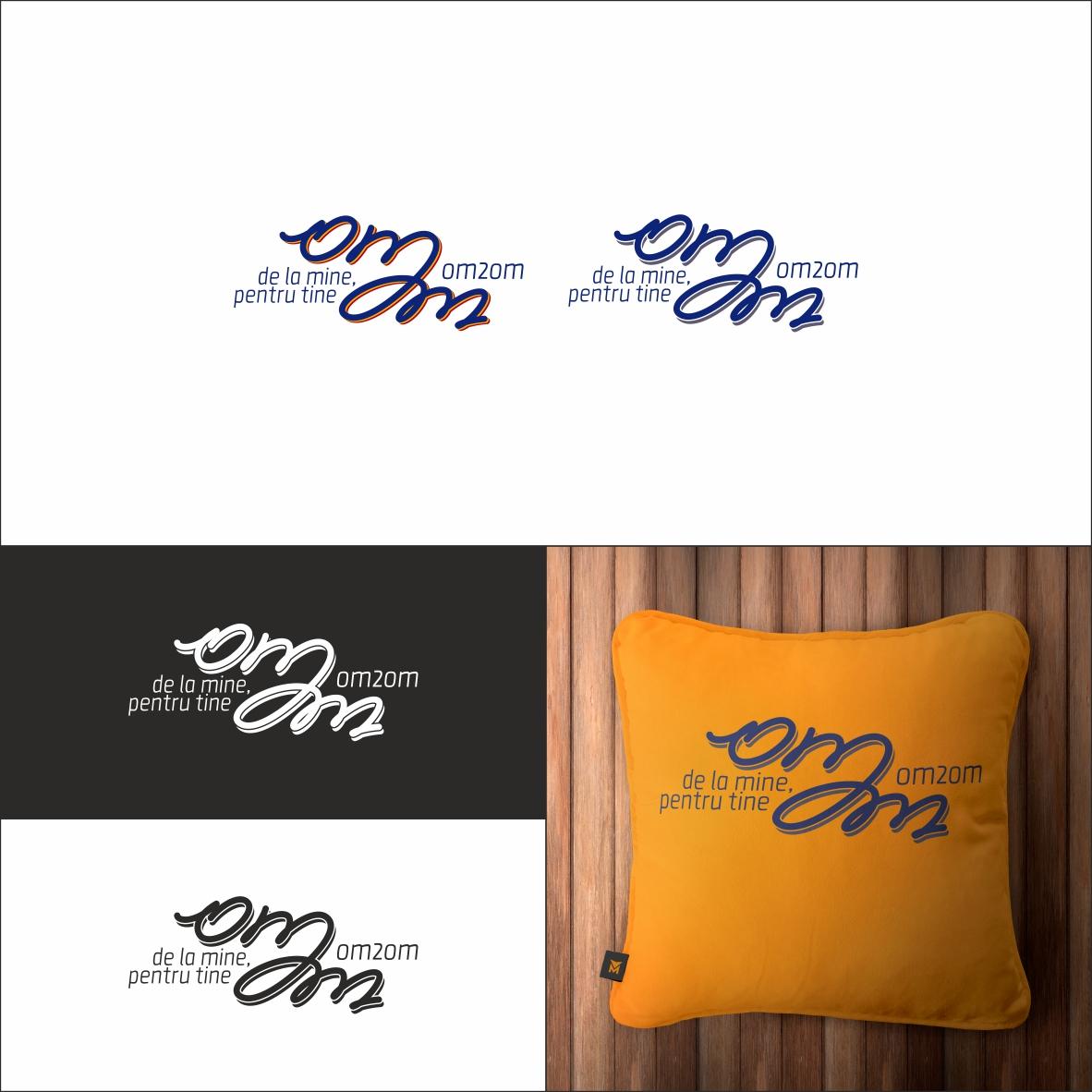 Разработка логотипа для краудфандинговой платформы om2om.md фото f_2915f5a6e5b0254f.jpg