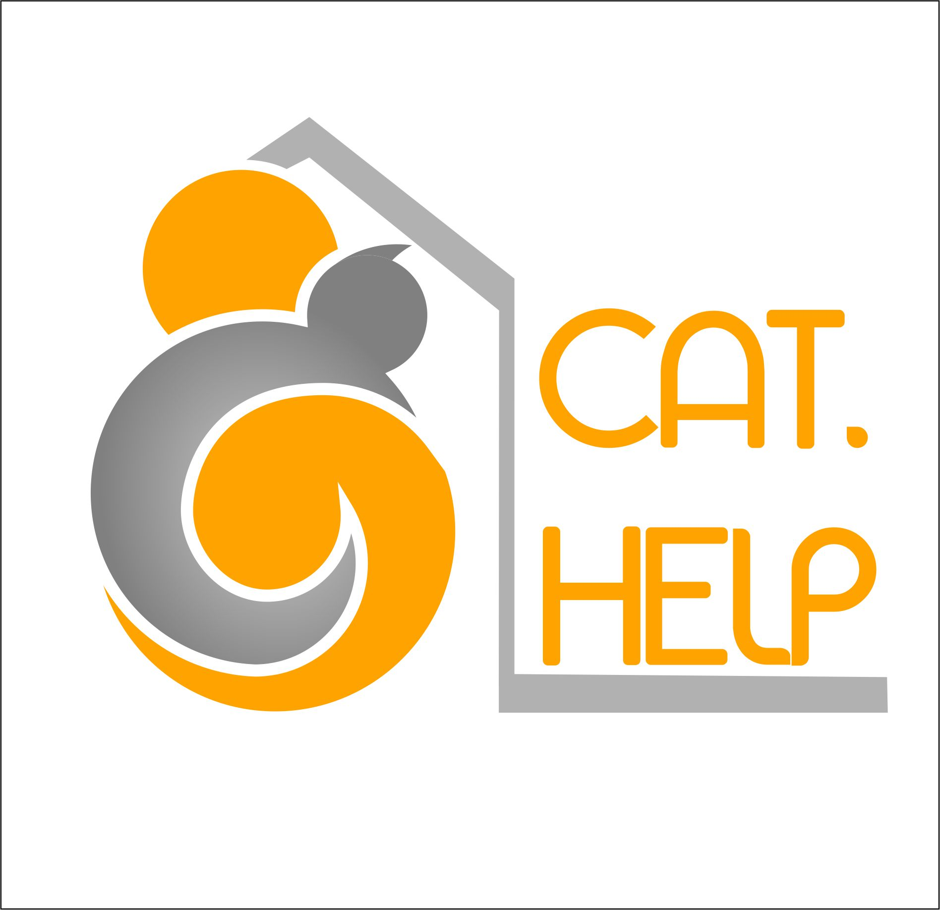 логотип для сайта и группы вк - cat.help фото f_18459dd01c51ff23.jpg