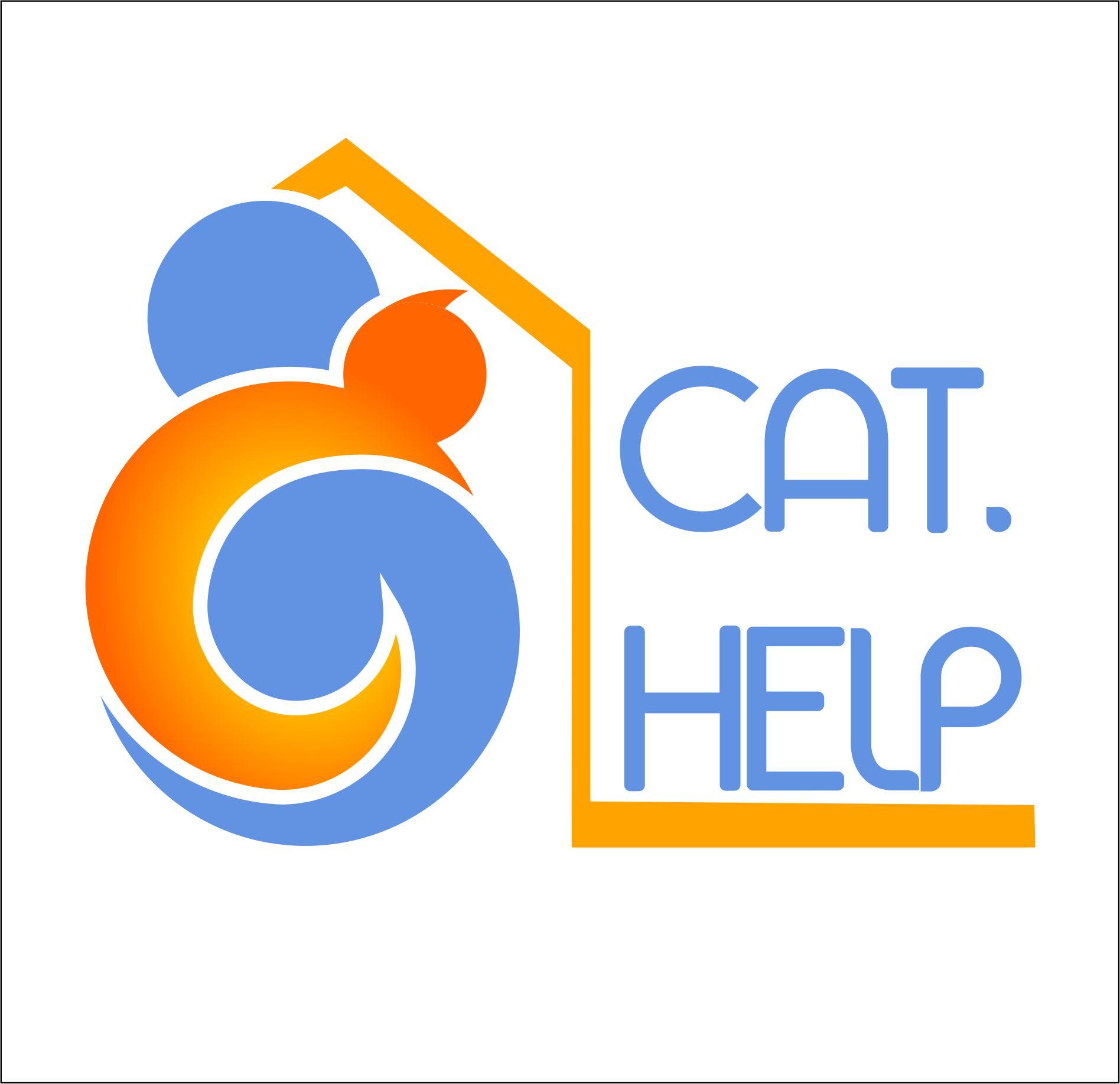 логотип для сайта и группы вк - cat.help фото f_98859dd01aea4859.jpg