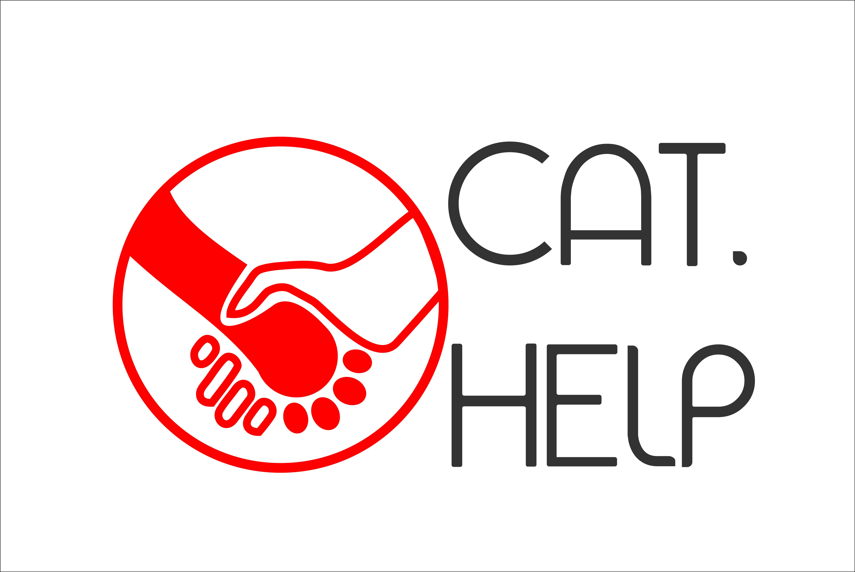 логотип для сайта и группы вк - cat.help фото f_98959e51d78e2e6e.jpg