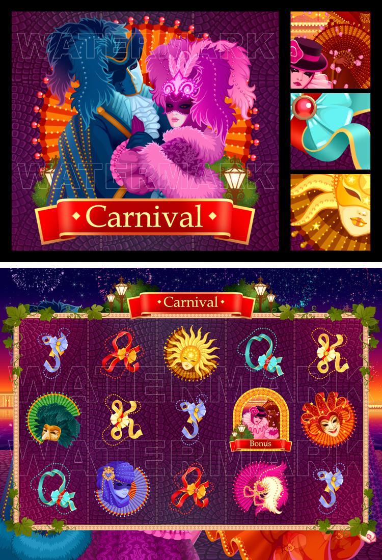 """Графика для игрового уровня """"Карнавал"""""""