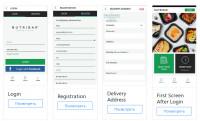 """Верстка мобильного веб-приложения """"Nutribar"""""""