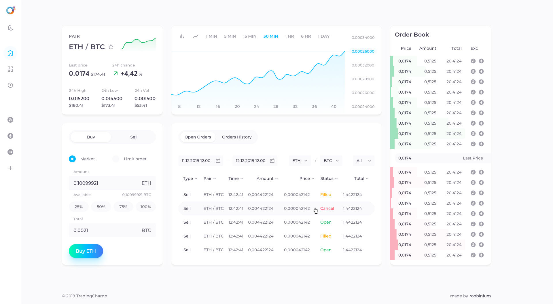Orion Protocol Cryptocurrency Exchange Design