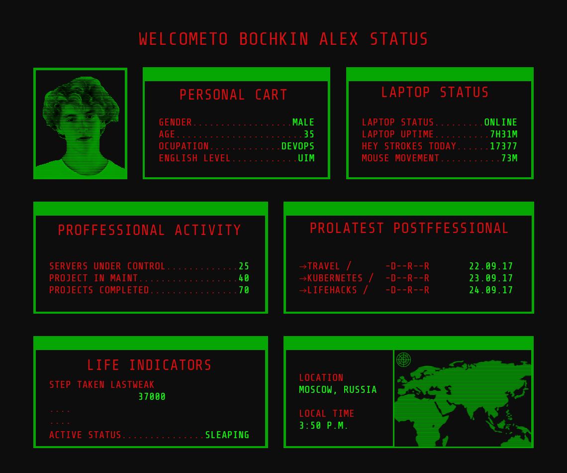 Cyberpunk Terminal