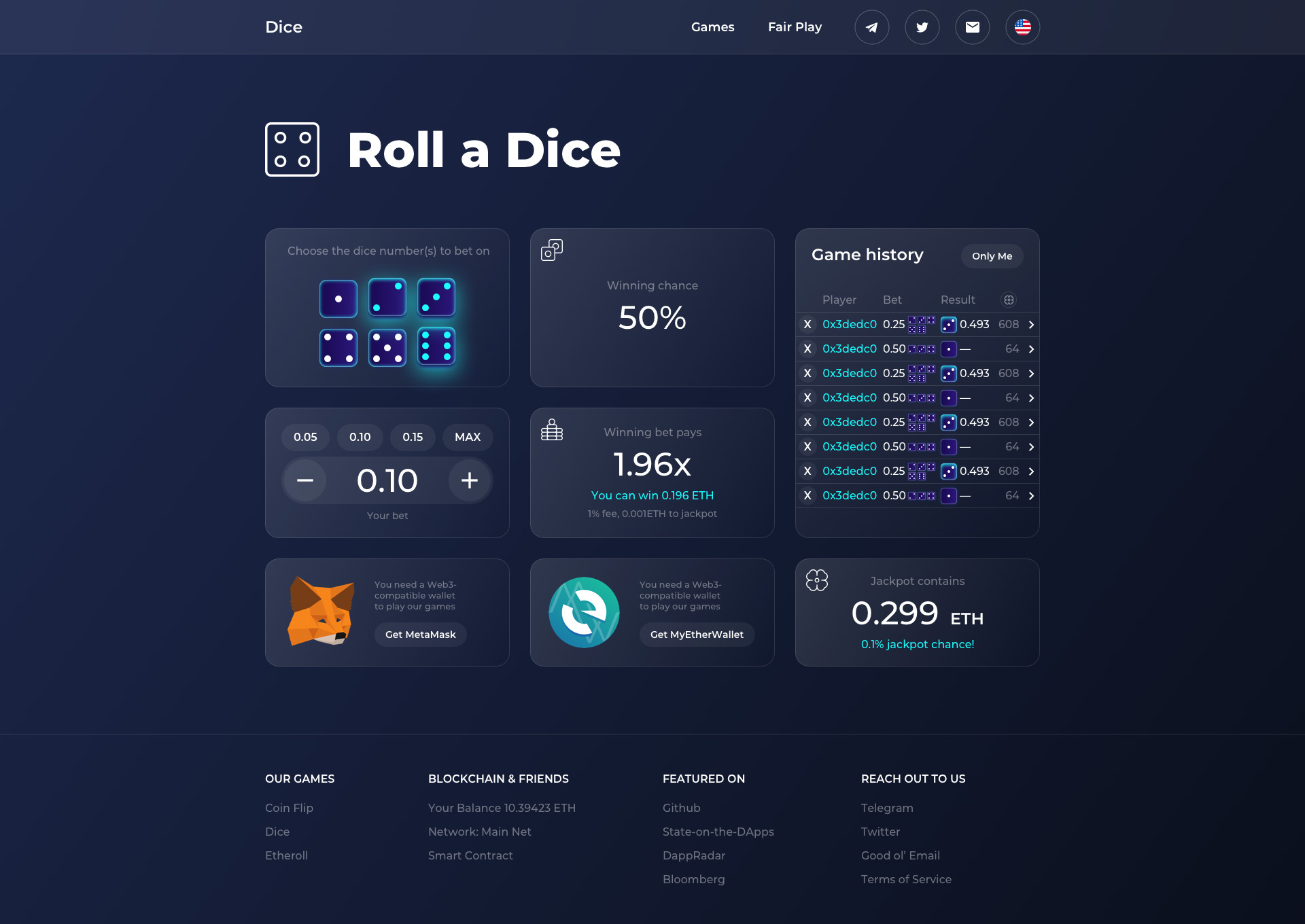 Cryptocurrency Game