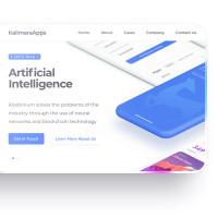 Kalimera Apps Landing Page