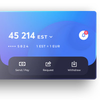 UX/UI Мобильное приложение Nano Pay