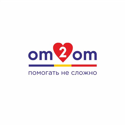 Разработка логотипа для краудфандинговой платформы om2om.md фото f_1305f5fd95f7826e.png