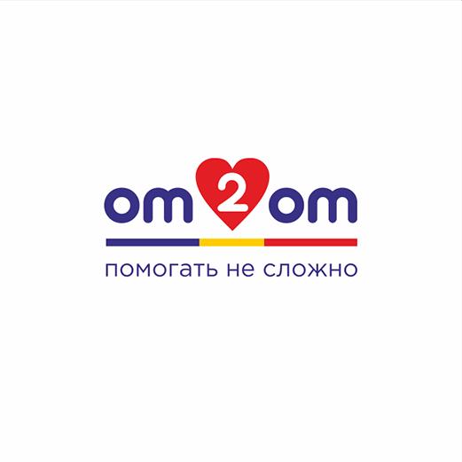 Разработка логотипа для краудфандинговой платформы om2om.md фото f_8195f5fd964dd471.png