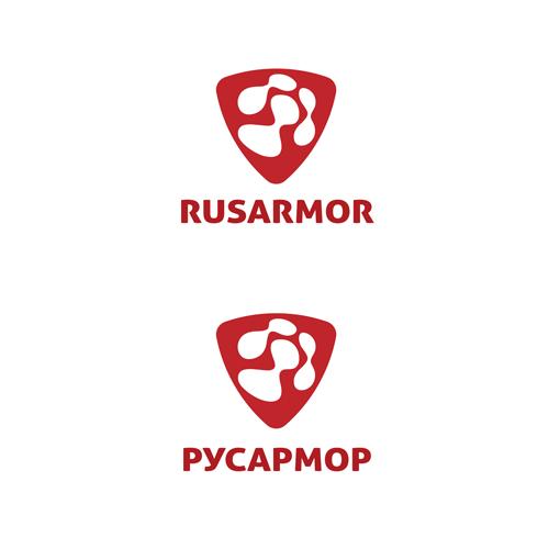 Разработка логотипа технологического стартапа РУСАРМОР фото f_5915a06cf51c3e3d.png