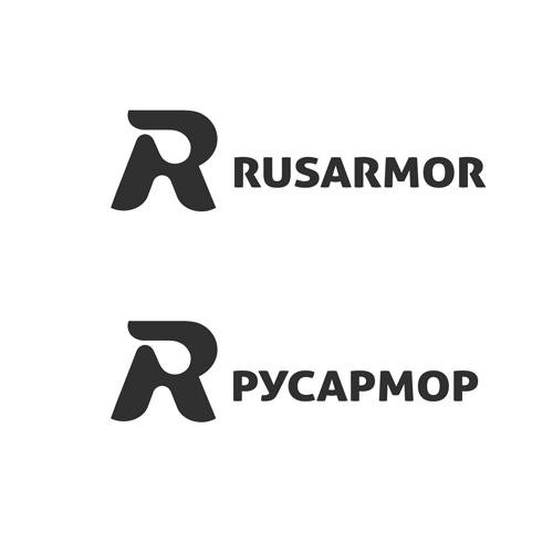 Разработка логотипа технологического стартапа РУСАРМОР фото f_7605a0719c3429a6.png