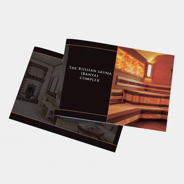 Верстка буклета для проекта архитектурной компании