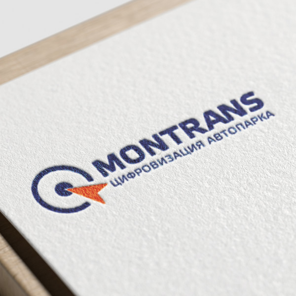 "Разработка логотипа для ГК ""Монтранс"""