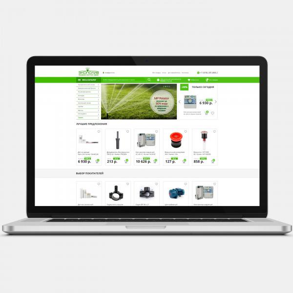 Разработка дизайна для интернет-магазина