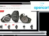 Дизайн продающего интернет-магазина под ключ для cms opencart