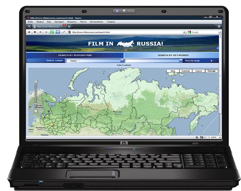 Заполнение сайта www.filminrussia.com