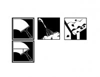 Иконки черно белые