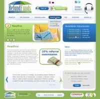 Дизайн сайта страховка