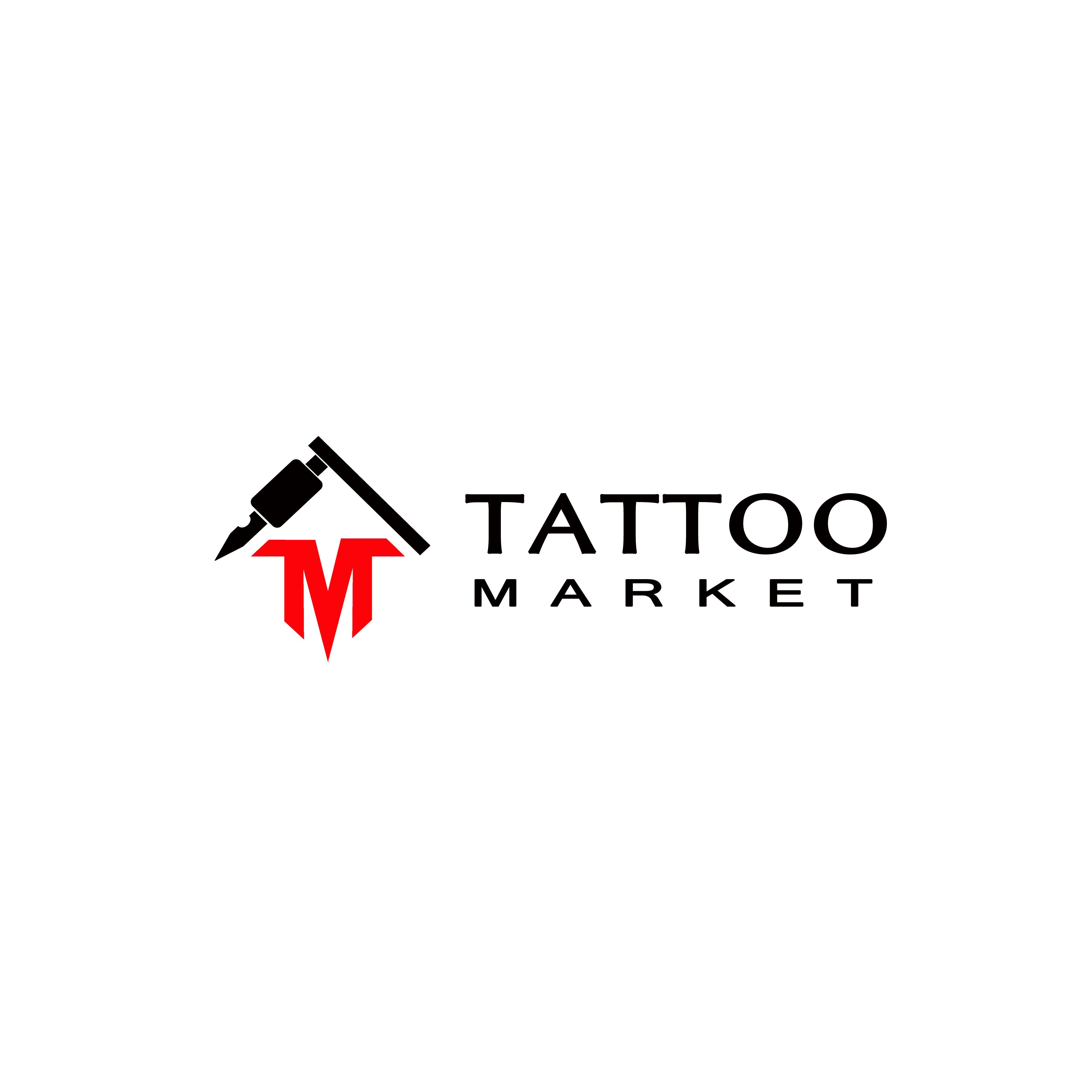 Редизайн логотипа магазина тату оборудования TattooMarket.ru фото f_0615c40b815257a8.jpg