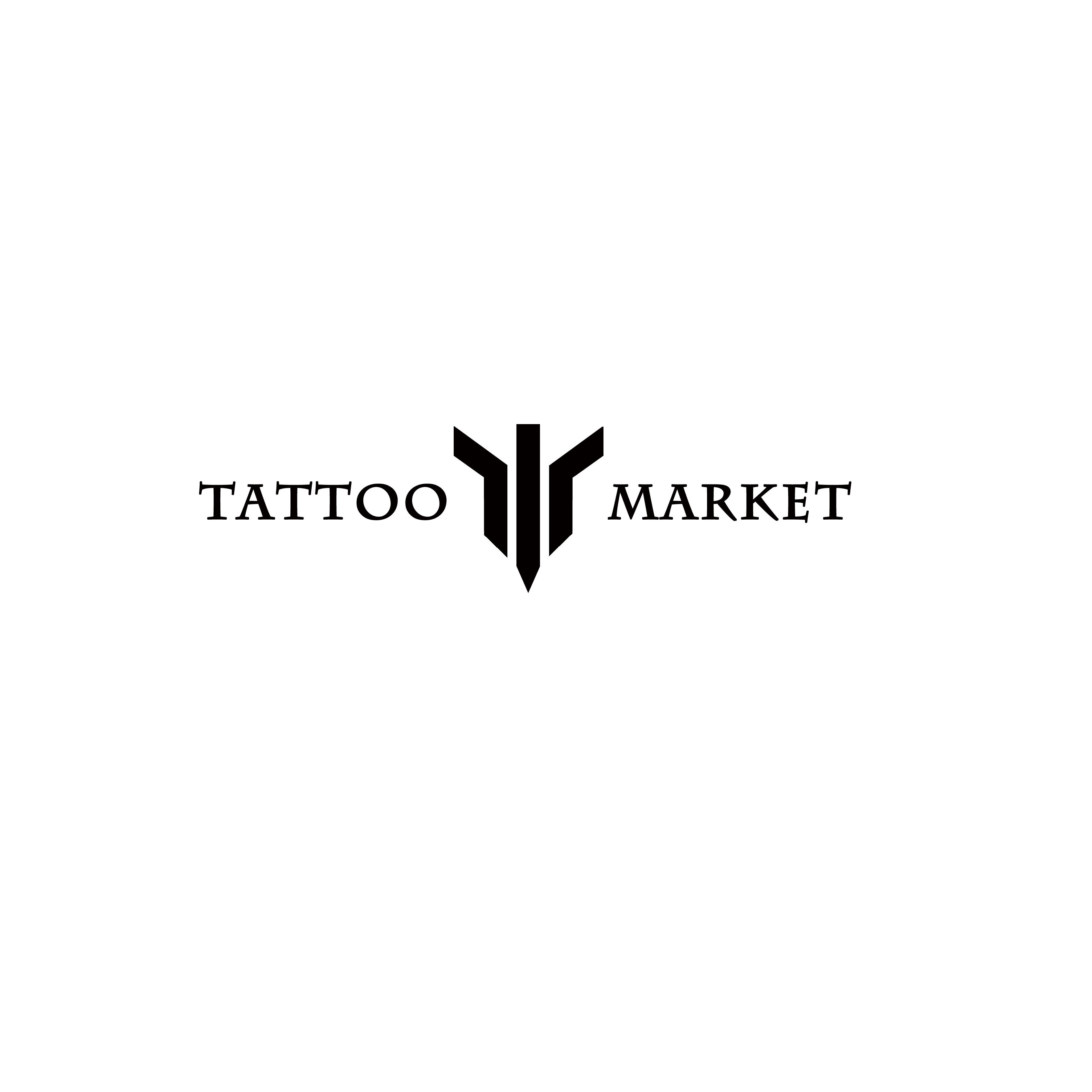 Редизайн логотипа магазина тату оборудования TattooMarket.ru фото f_1805c3a667845a36.jpg