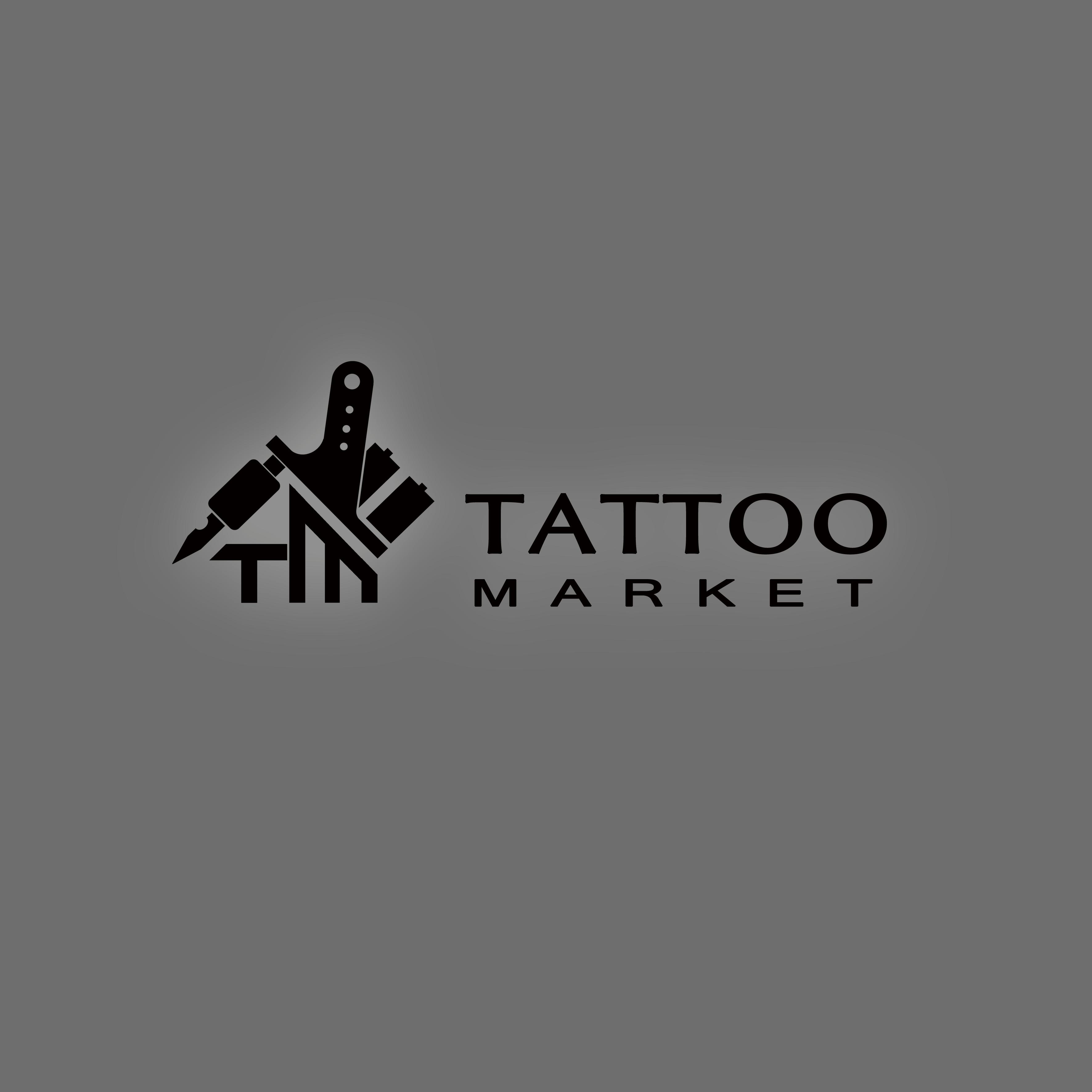 Редизайн логотипа магазина тату оборудования TattooMarket.ru фото f_2445c40ab84f027a.jpg