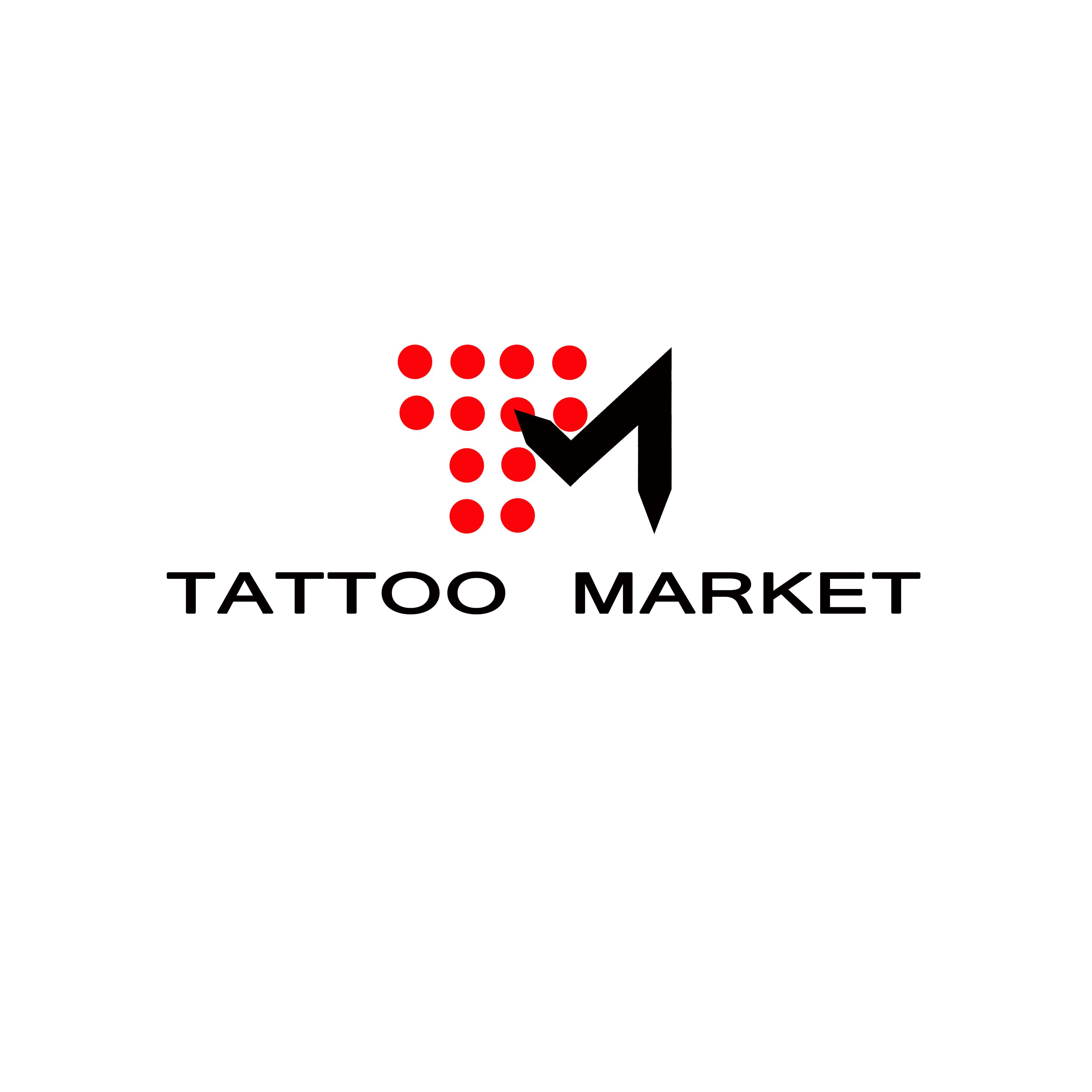 Редизайн логотипа магазина тату оборудования TattooMarket.ru фото f_4155c3e0343b8e83.jpg