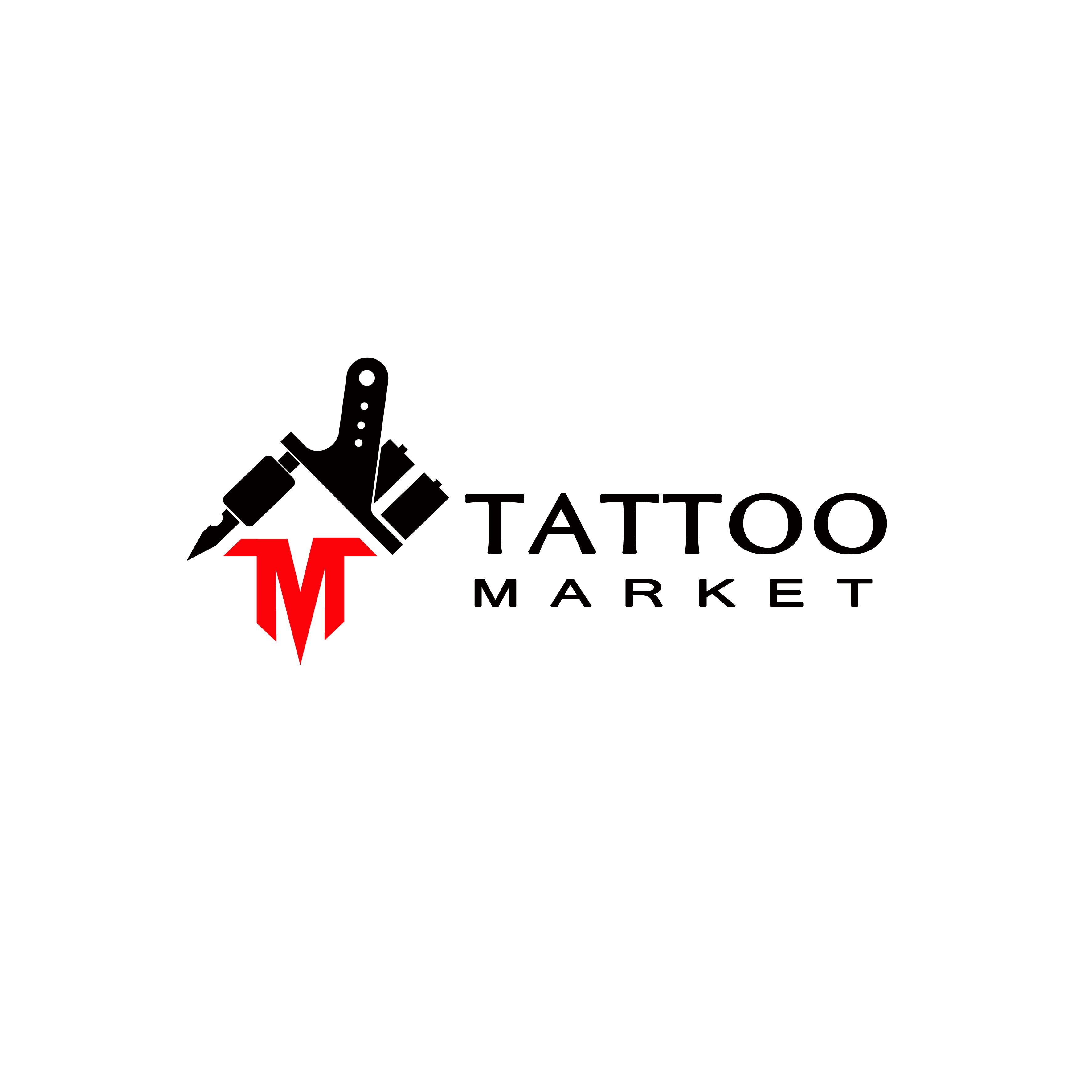 Редизайн логотипа магазина тату оборудования TattooMarket.ru фото f_4465c40b71ecb611.jpg